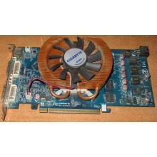 Глючная видеокарта 512Mb DDR3 nVidia GeForce 9800GT Gigabyte GV-N98TZL-512H PCI-E (Хасавюрт)