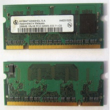 Модуль памяти для ноутбуков 256MB DDR2 SODIMM PC3200 (Хасавюрт)